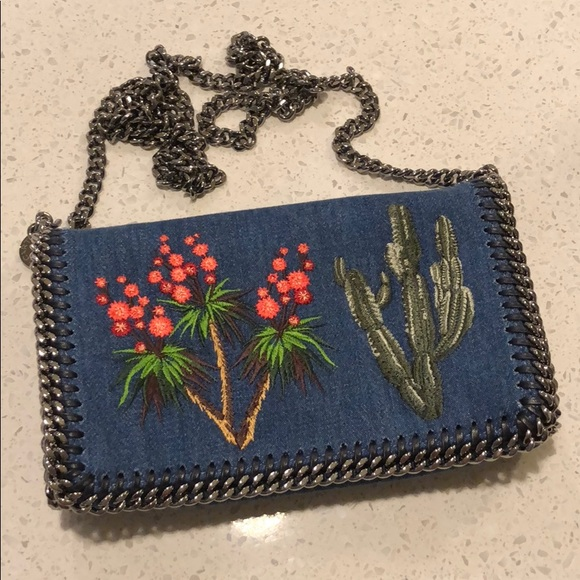 9076362a66f Stella McCartney Bags   Cactus And Denim Bag   Poshmark